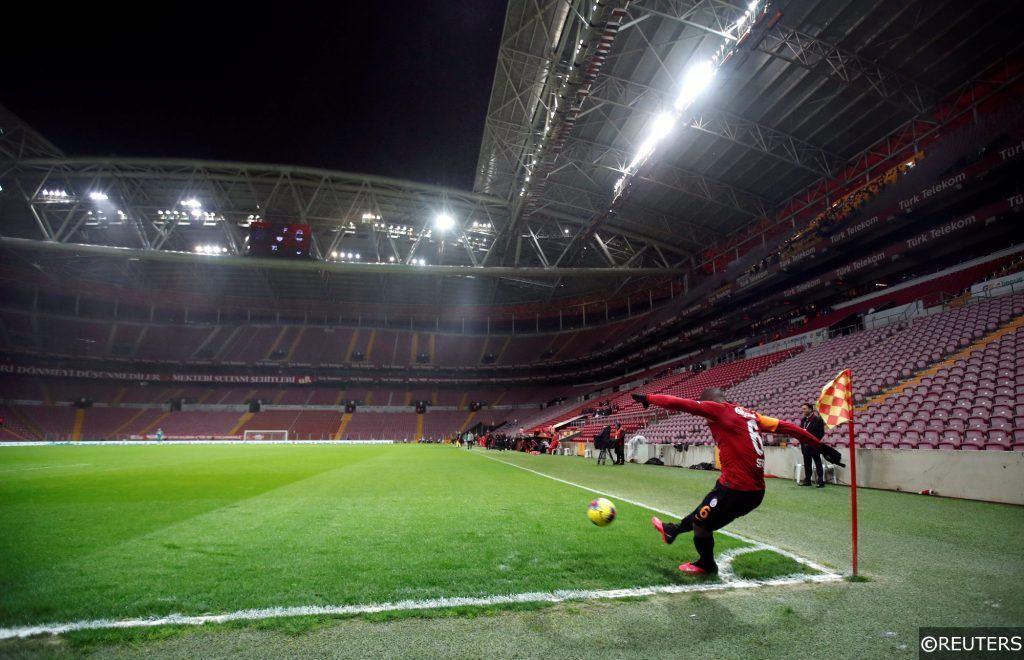 Galatasaray vs Besiktas behind closed doors