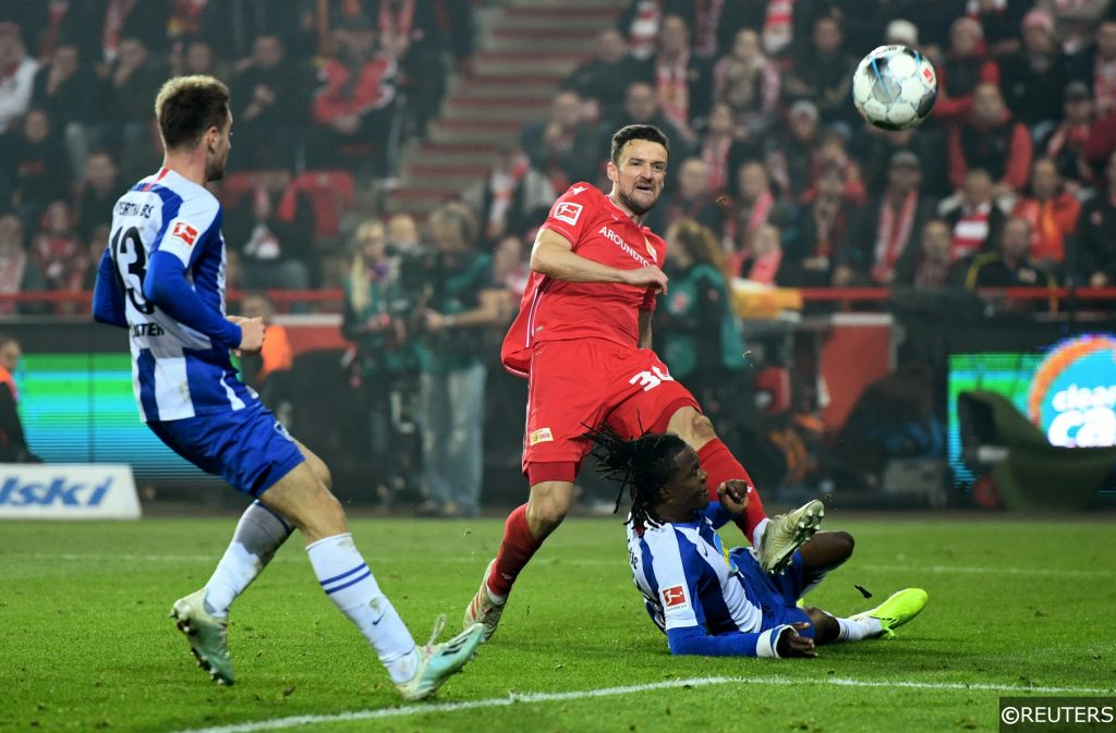 Christian Gentner Dedryck Boyata. Hertha Berlin vs Union Berlin
