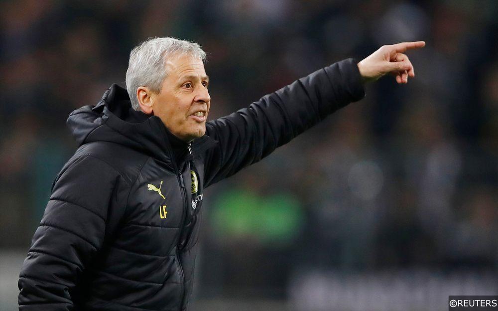 Lucien Favre Dortmund manager