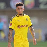 Jadon Sancho for Borussia Dortmund vs Paderborn in 2020