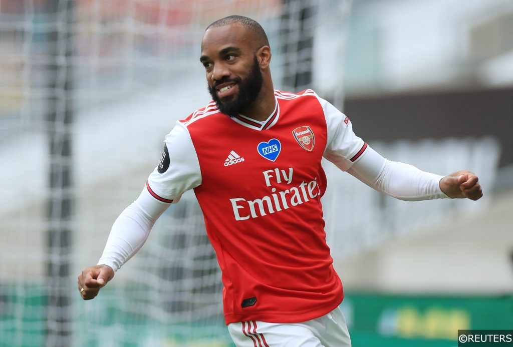 Arsenal forward Lacazette