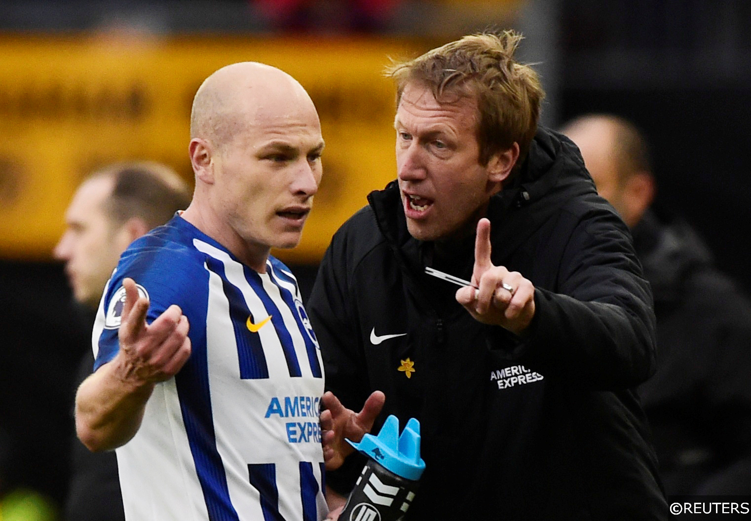 Brighton and Hove Albion manager talks tactics