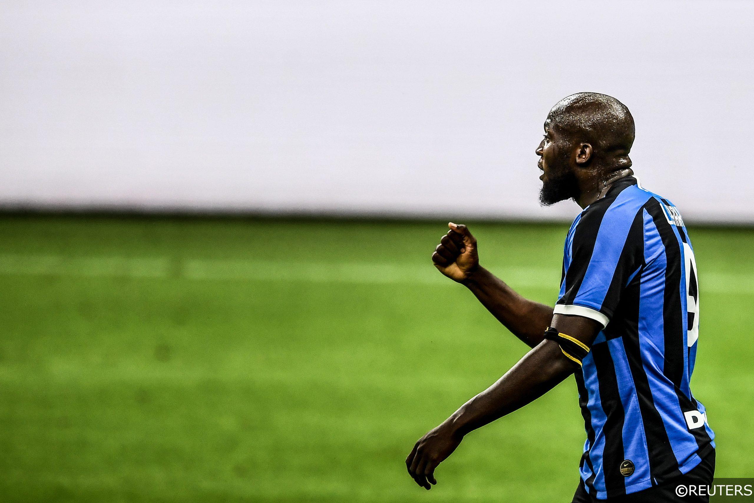 Romelu Lukaku for Inter Milan