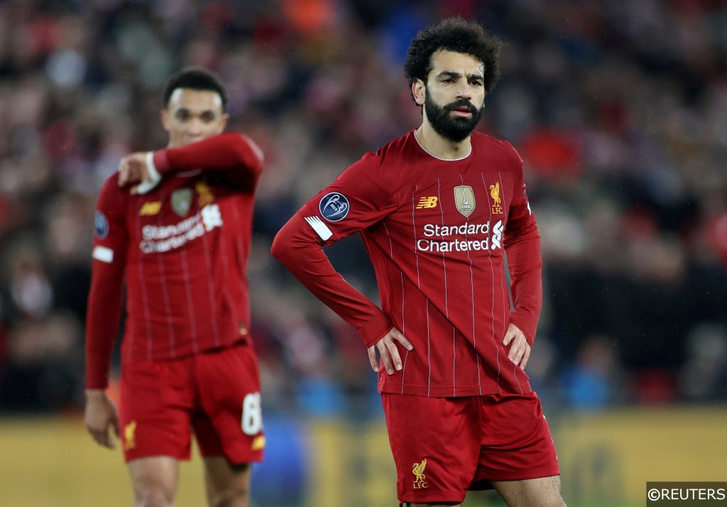 Mo Salah in the Champions League