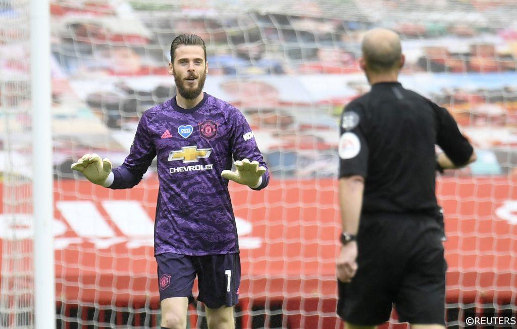 Man Utd goalkeeper De Gea