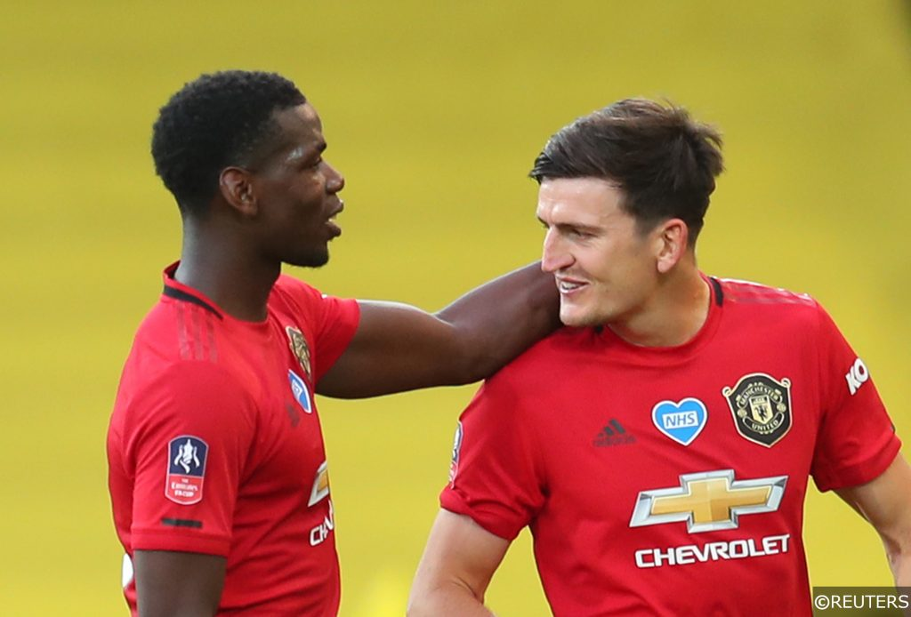 Man Utd's Pogba and Maguire