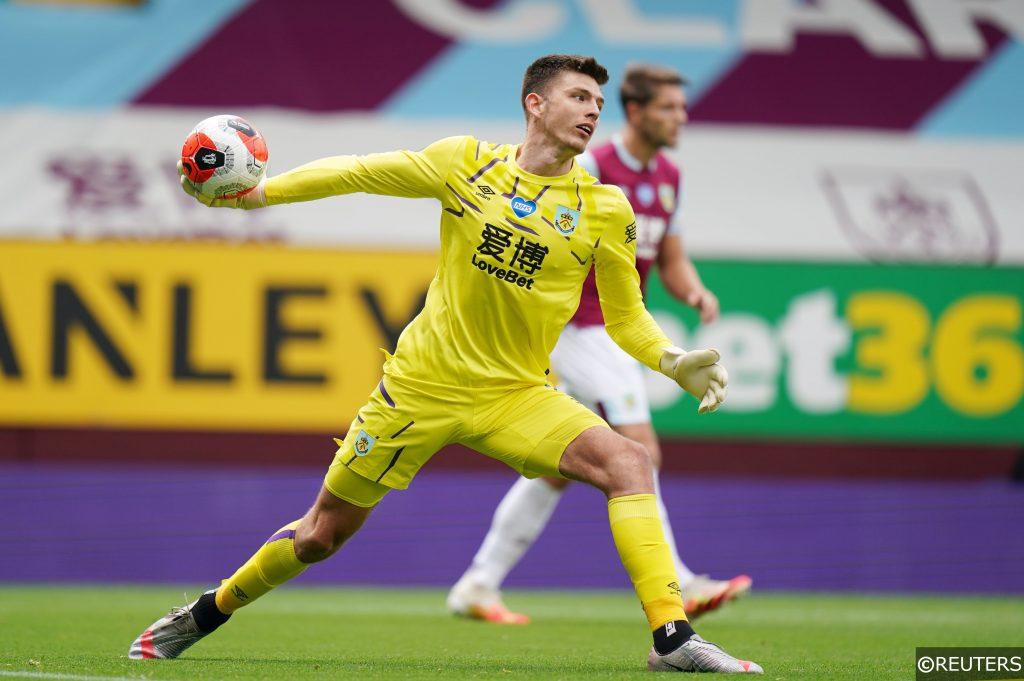 Goalkeeper Nick Pope for Burnley