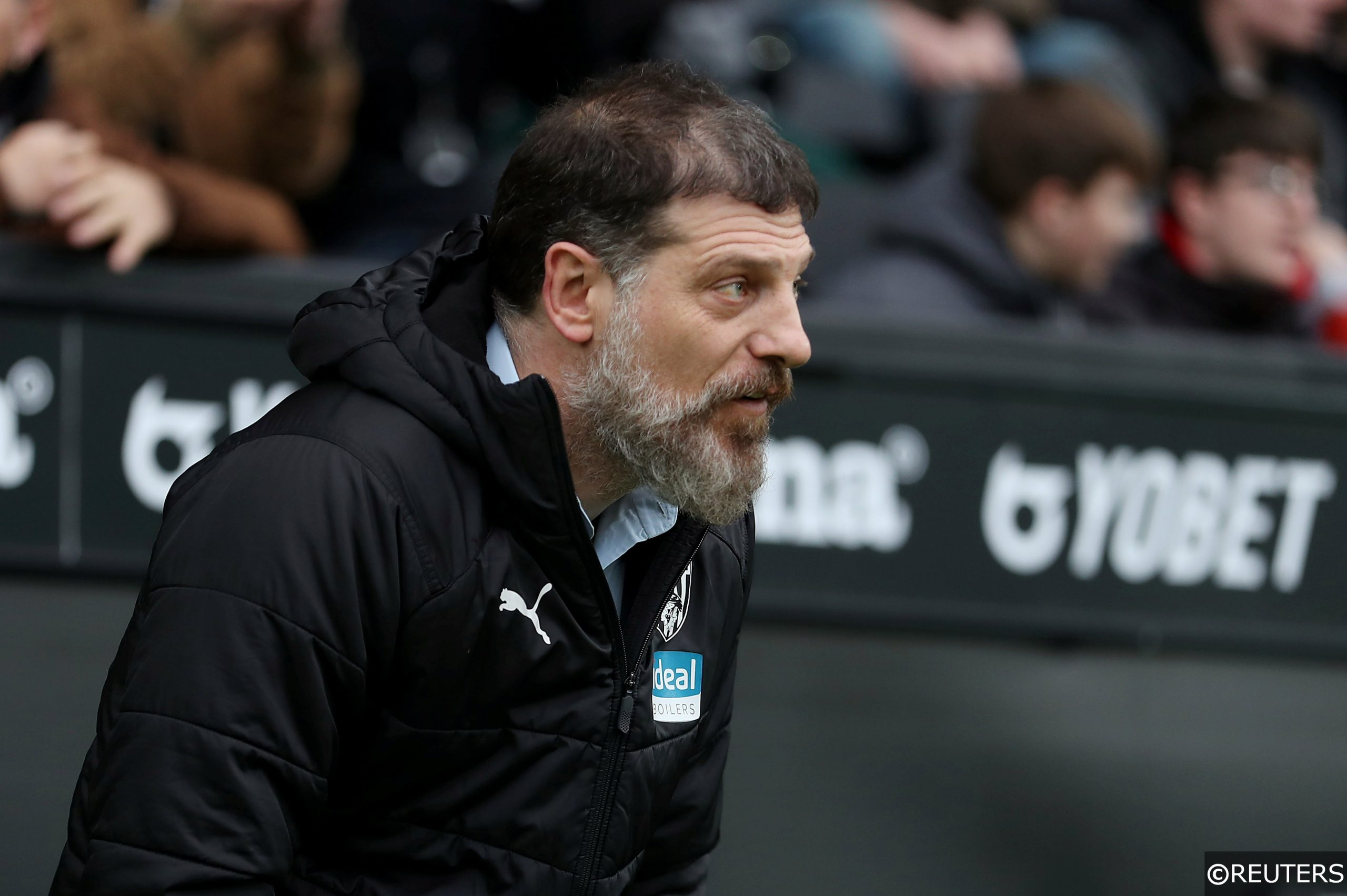 West Brom manager Slavan Bilic