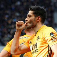 Wolverhampton Wanderers striker Raul Jimenez (29)