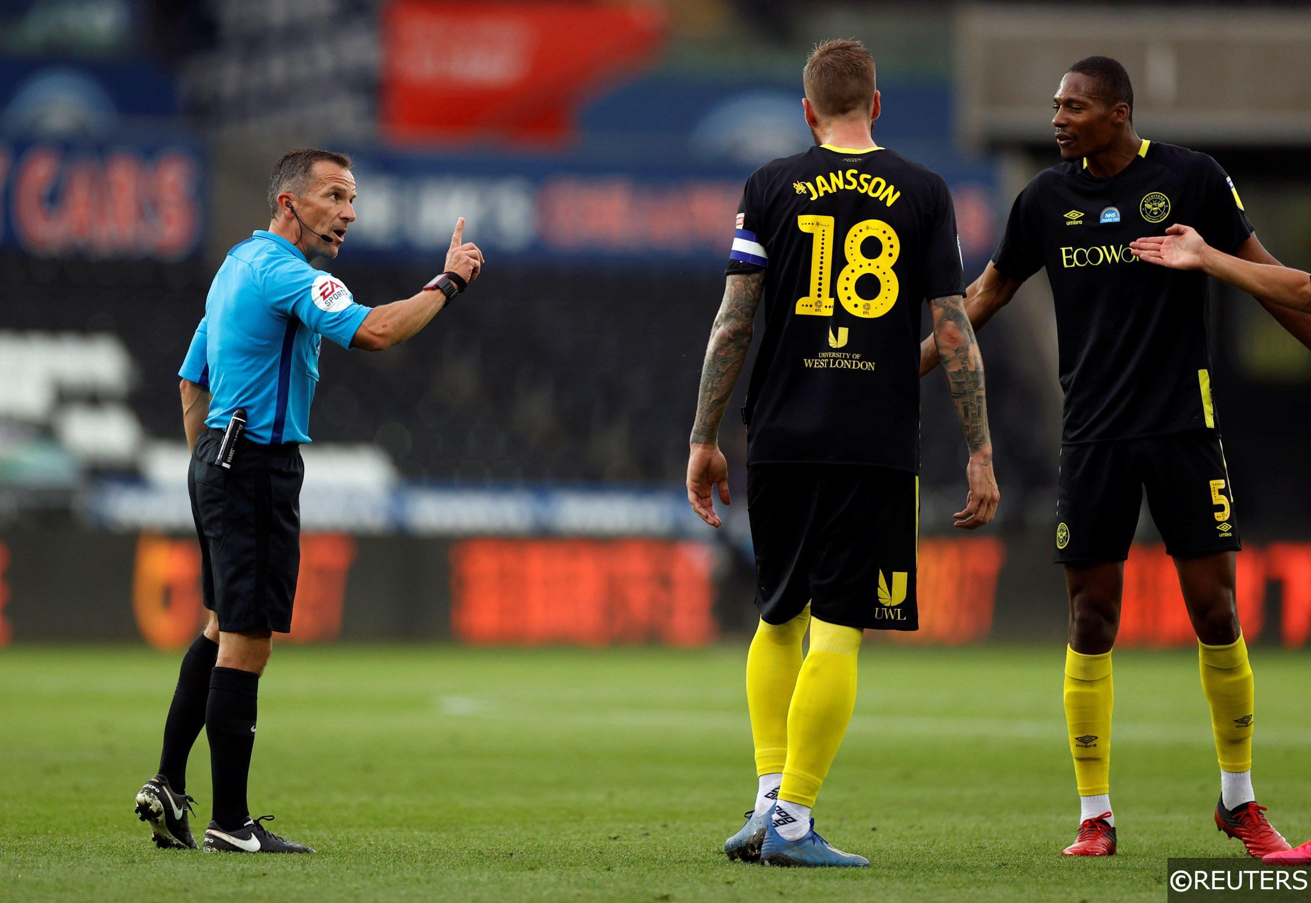 Championship Play Offs Semi-Finals Brentford F.C.