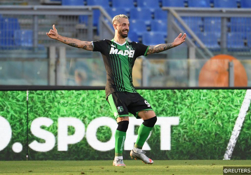 Francesco Caputo (33) Sassuolo