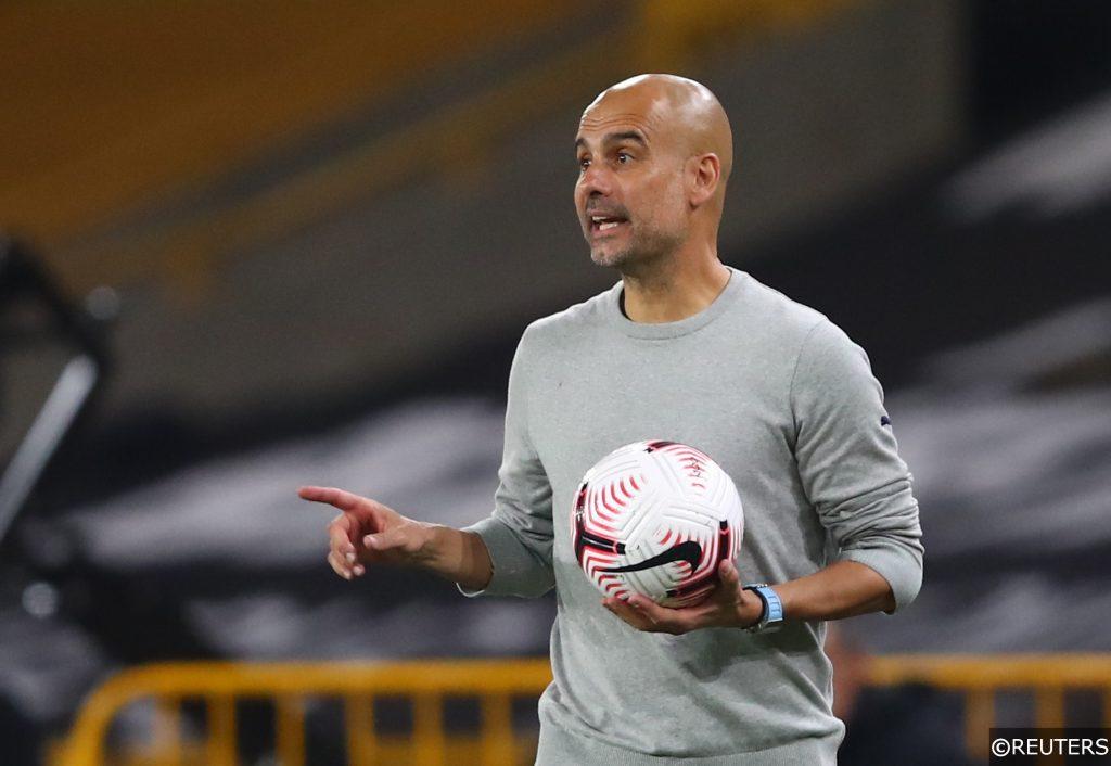 Pep Guardiola Man City manager