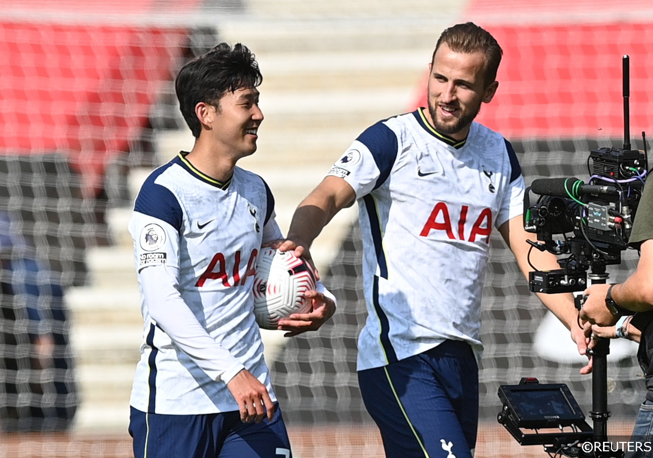 Son and Harry Kane Tottenham