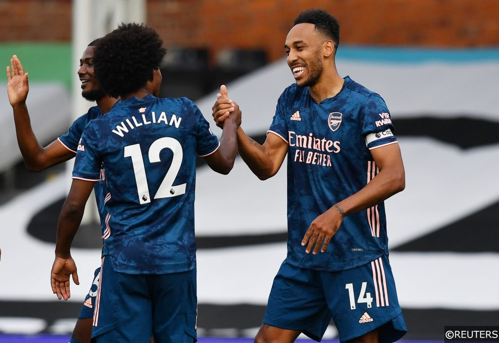 Willian Aubameyang Arsenal