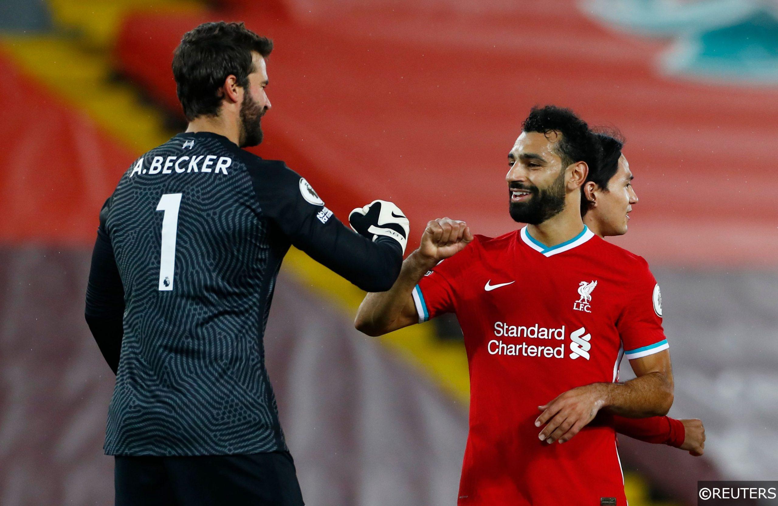 Alisson Mohamed Salah Liverpool