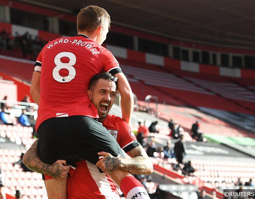 Danny Ings James Ward-Prowse Southampton