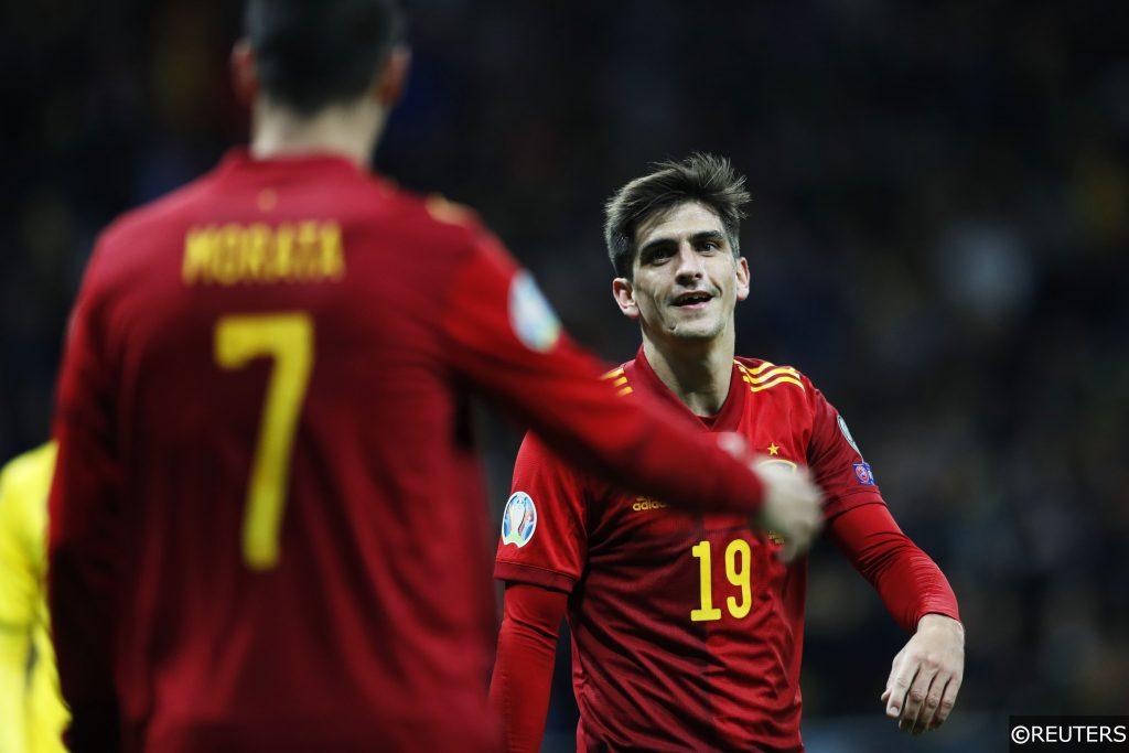 Gerard Moreno Alvaro Morata Spain