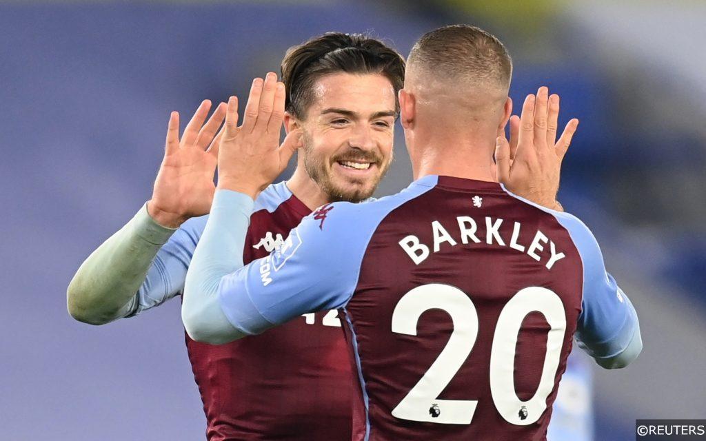 Jack Grealish Ross Barkley Aston Villa