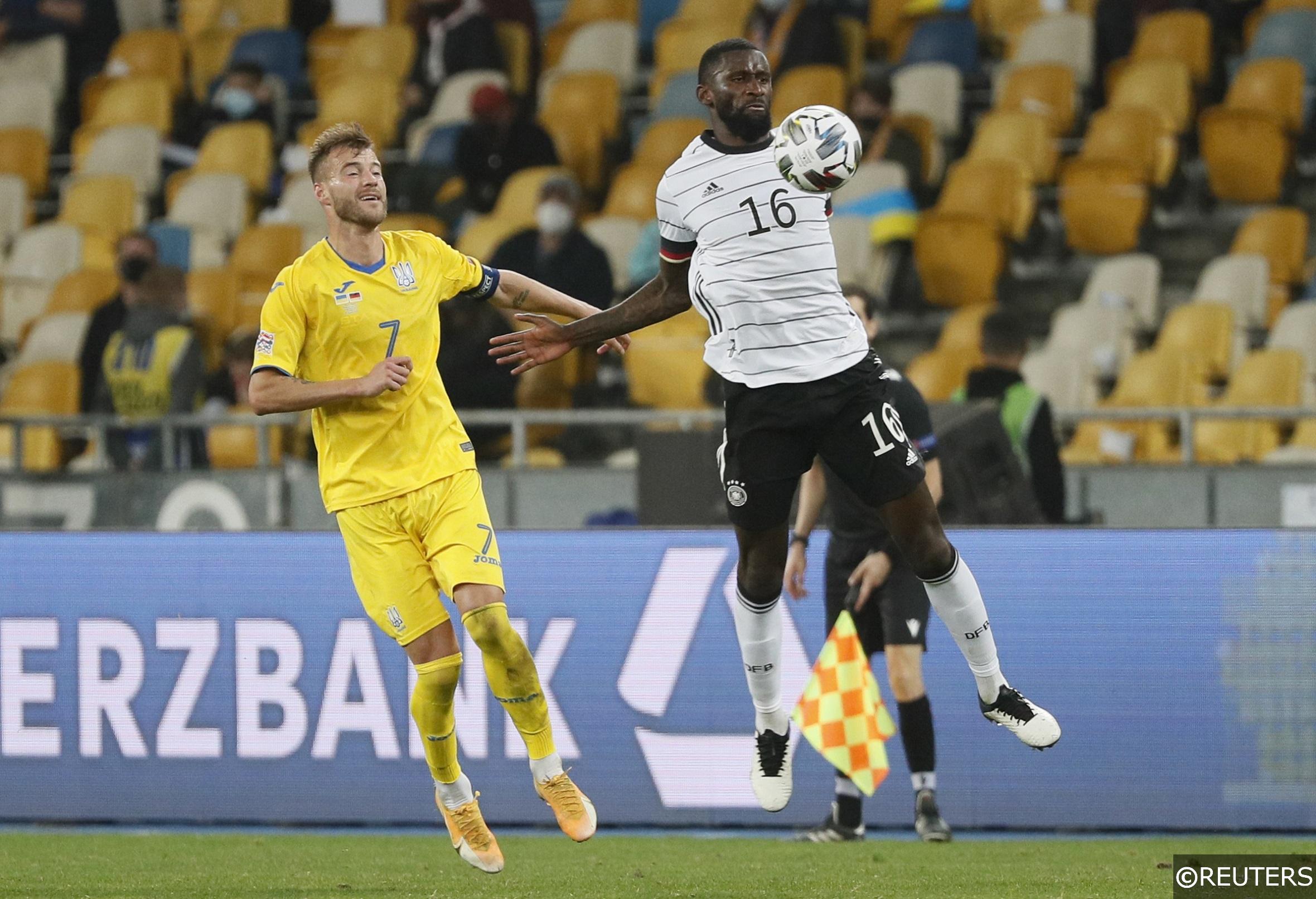 Antonio Rudiger Germany Ukraine
