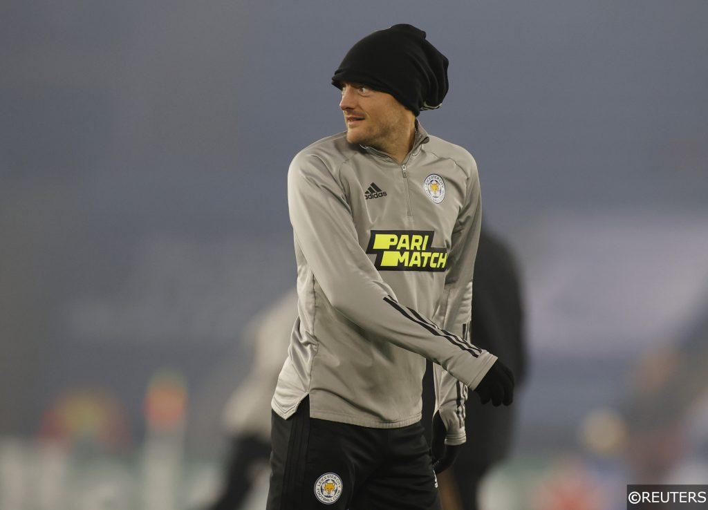 Vardy Leicester Braga Europa League