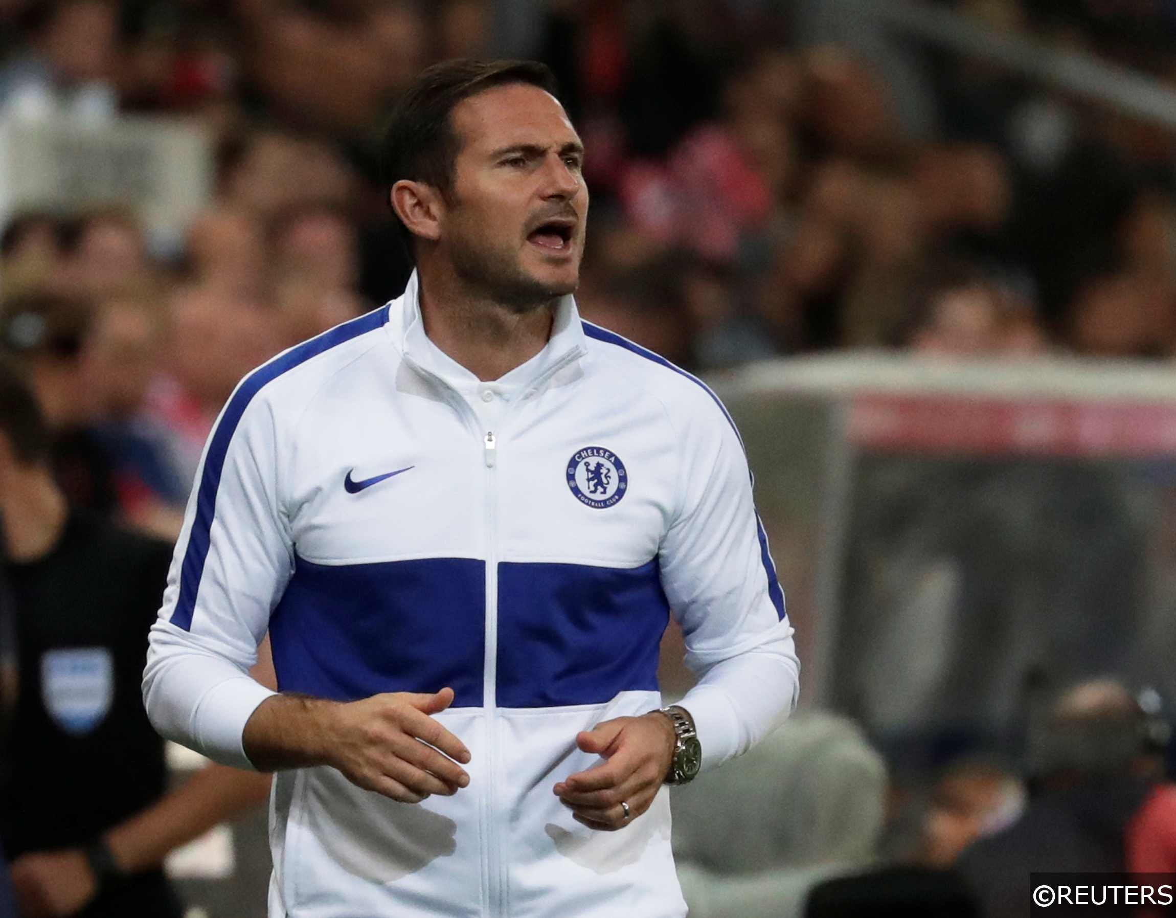 COMPLIANT Frank Lampard Chelsea manager