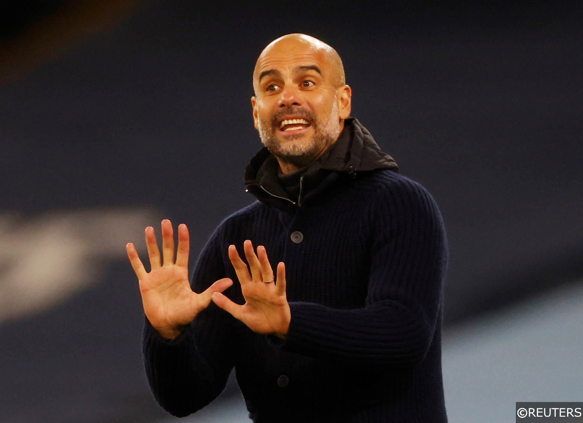 Pep Guardiola Man City Champions League