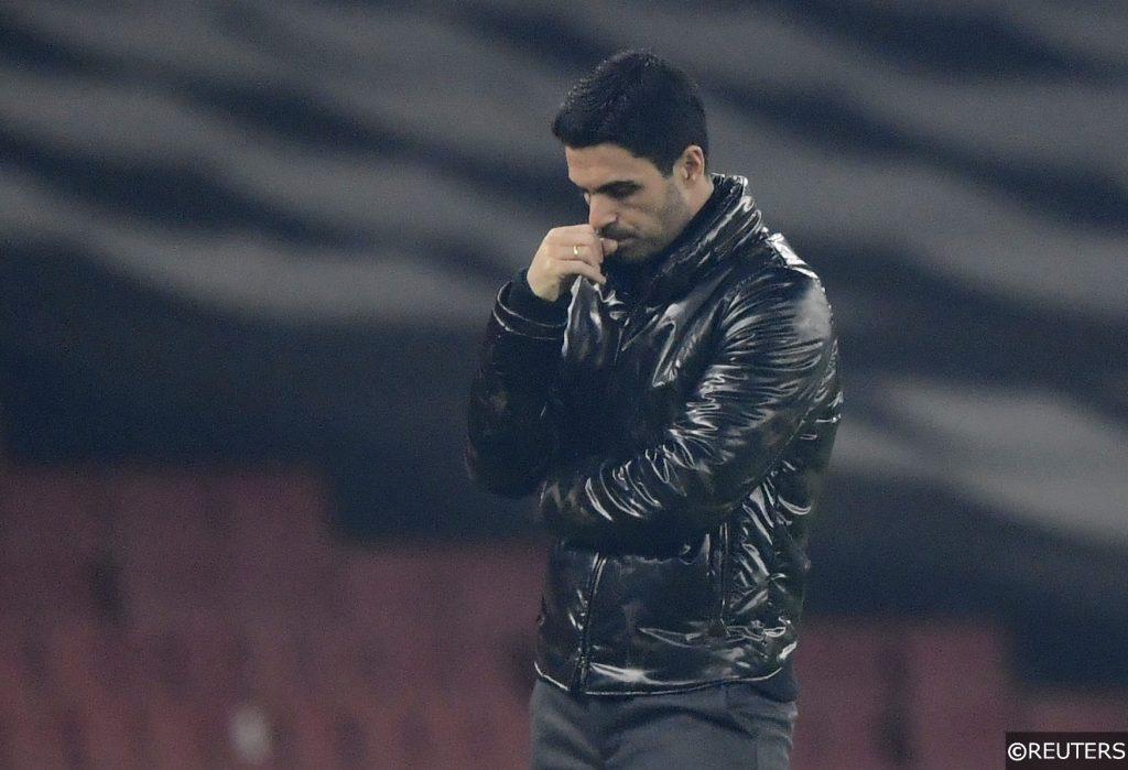 COMPLIANT - Mikel Arteta Arsenal manager vs Molde Europa League
