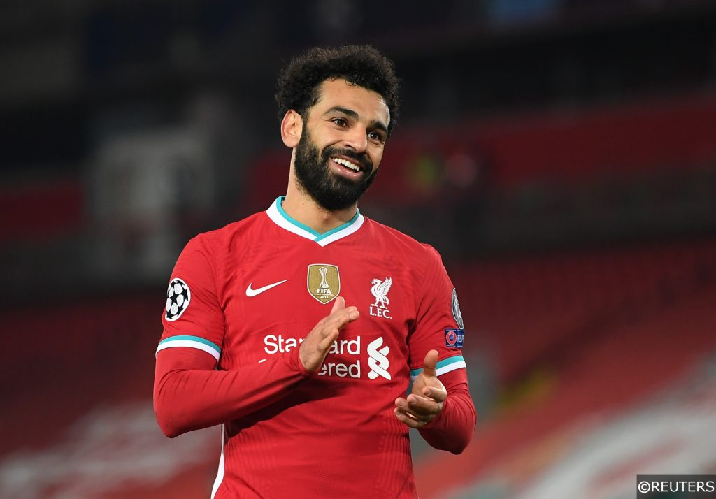 COMPLIANT - Mohamed Salah for Liverpool vs Ajax in the Champions League