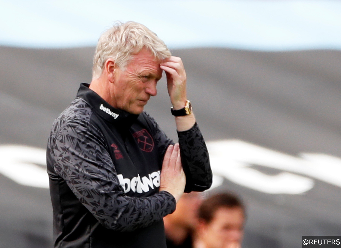 West Ham manager David Moyes in a friendly
