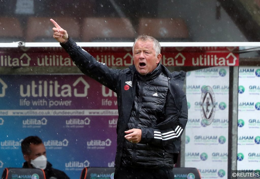 COMPLIANT - Chris Wilder pictured at Sheffield United's friendly against Dundee United