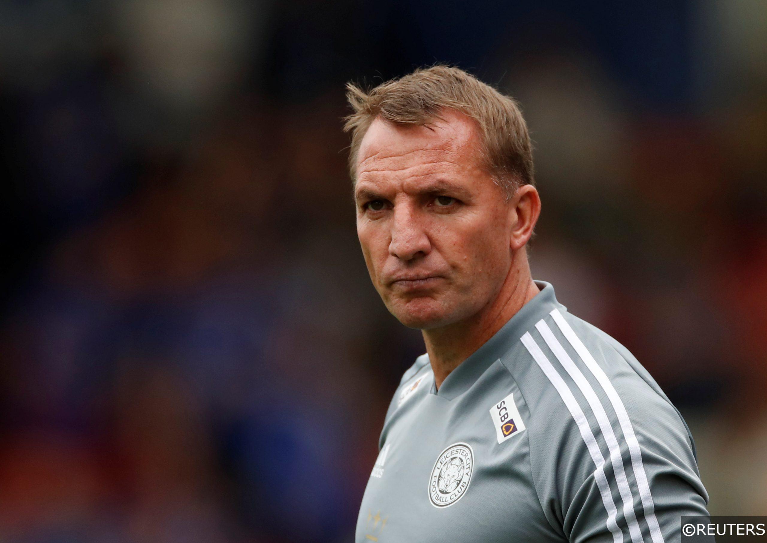 COMPLIANT - Brendan Rodgers Leicester pre season friendly