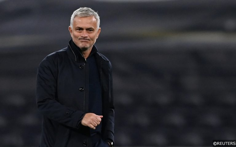 Under pressure Mourinho faces stern Tuchel test as Chelsea take on Tottenham (with 45/1 #OddsOnThat)